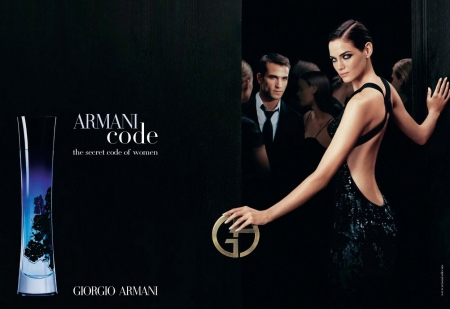 :) - girl, perfume, armani, add, black, commercial, man