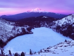 Frozen Heart, Mount Shasta, California