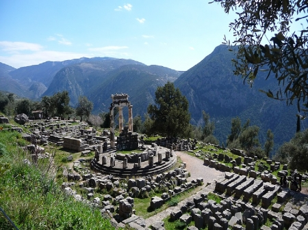 Delphi Greece - magic, peace, Delphi Greece, natural