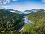 Elwha River on the Olympic Peninsula in Washington