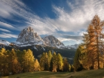 Mountains at Autumn