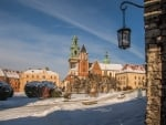 Winter in Krakow, Poland
