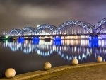 Bridge in Riga, Latvia