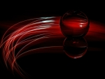Dark Red Ball