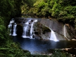 Coal Creek Falls, in Greymouth, South Island of New Zealand