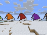 Colored Santa Hats - All Your Favorite Colors in RealmCraft Free Minecraft Clone