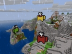 Pixels Among Us: Green & Yellow & Red in Realmcraft Free Minecraft StyleGame