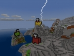 Lightning! Who's the Impostor? - New Blueprints in Realmcraft Free Minecraft Clone