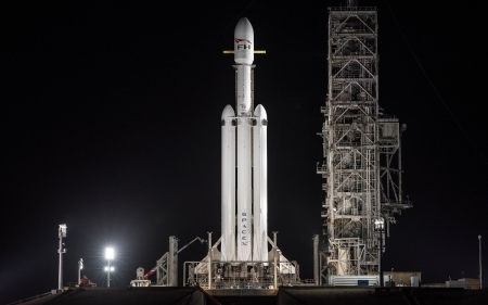 SpaceX Falcon Heavy - rocket, heavy, falcon, spacex