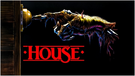 HOUSE. Promo Art with Title. - Art, Horror, Film, House