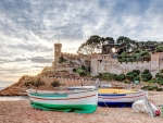 Tossa de Mar Fortress, Spain