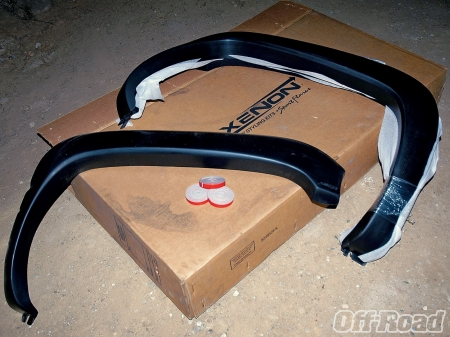Fender Flares for Dodge Ram 1500 1994 - fender, component, part, flares