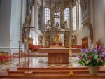 Church Altar in Germany