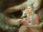 The princess and the white dragon