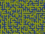 Maze Optical Illusion