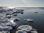 Icy Sea in Latvia
