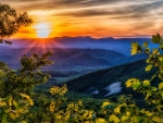 Blue Ridge Mountains, Roanoke, Virginia