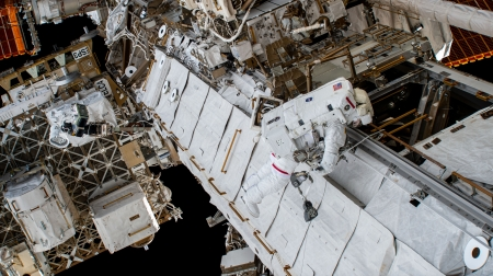 ISS - ISS, space walk, astronaut, space