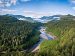 River Elwha in USA