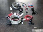 Kodiak Dual Battery System Wiring Components