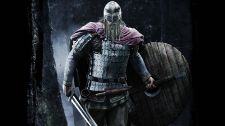 Viking Warrior - fight, Nordic, Warrior, Viking