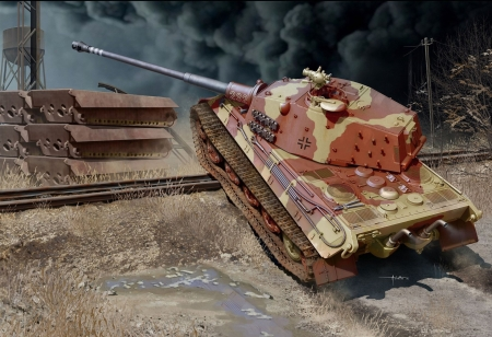 Tiger tank - Tiger, war, tank, shot