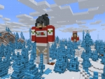Minecraft Steve in Christmas Sweater || RealmCraft Free Minecraft Pixel StyleGame