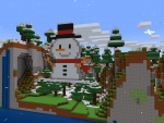Don't cry, Snowman ☃️ Easy Build Ideas in RealmCraft Free Minecraft Style Game