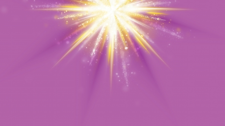 Yellow Star Fire - pink background, fire, stars, yellow, abstract