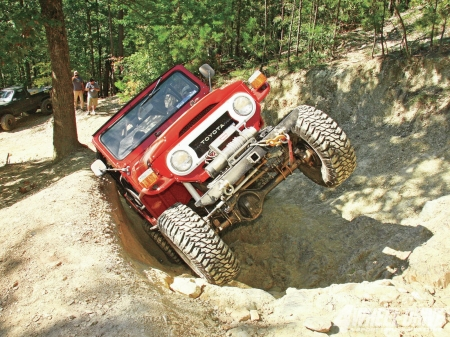 Toyota Land Cruiser FJ40 1974 - thrill, 4x4, offroad, crawl