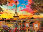 Colorful Paris