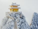Pagoda in Winter