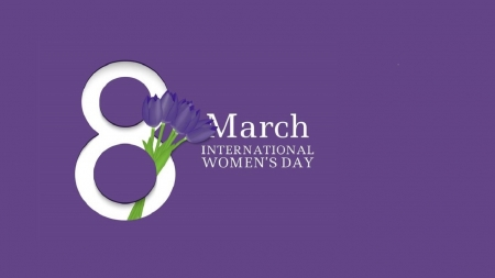 HAPPY INTERNATIONAL WOMEN'S DAY MARCH 8, 2021 - 2021, tulips, march 8, green and blue