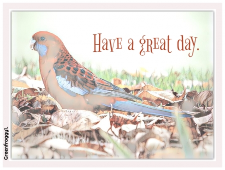 GREAT DAY - DAY, COMMENT, GREAT, CARD