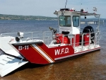 lake assault waconia fire boat