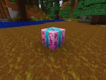 Break Gift Box, Find Minecraft Potions in RealmCraft Free Minecraft Clone Spring Update