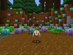 Collect Potions, Gold Ore, Cakes, Electrium - All in RealmCraft Free Minecraft Style Game
