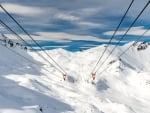 Swiss ski resort Arosa