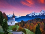 Church Maria Gern, Bavarian Alps