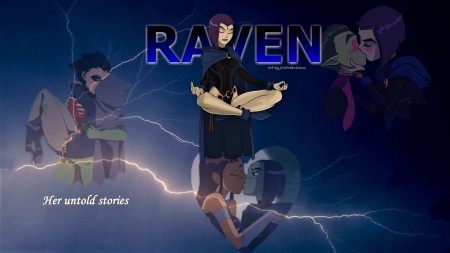Raven's Loves - teen titans, dc comics, raven, robin, hd wallpapers, teenagers, gotham city, 1920x1080 only, starfire, beast boy, jester girl, tv series, desktop nexus, movies