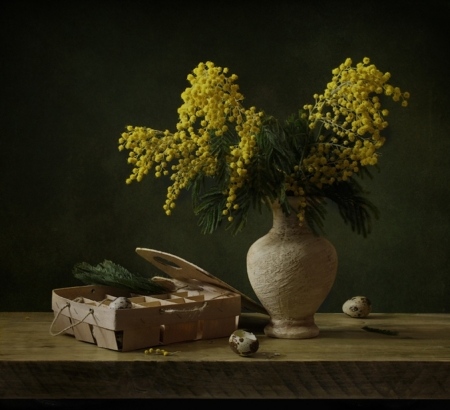 Still life - Yellow, Still life, Flowers, Bouquet