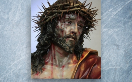 Man of Sorrow - passion, thorns, Christ, Jesus, Good Friday