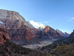 Beautiful views from the West rim trail at Zion National Park!
