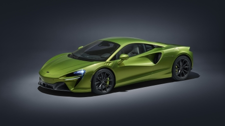 McLaren Artura - cars, McLaren, McLaren Artura, vehicles, green cars