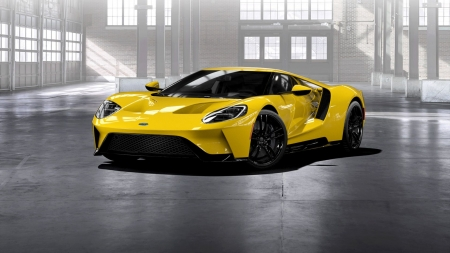 2017 Ford GT - supercar, gt, warehouse, ford