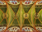 Church Ceiling in Luxembourg