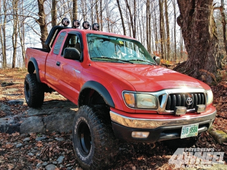 Toyota Tacoma 2002 - thrill, 4x4, offroad, ride