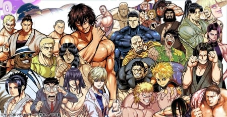 Kengan Ashura - warriors, fighters, ashura, kengan