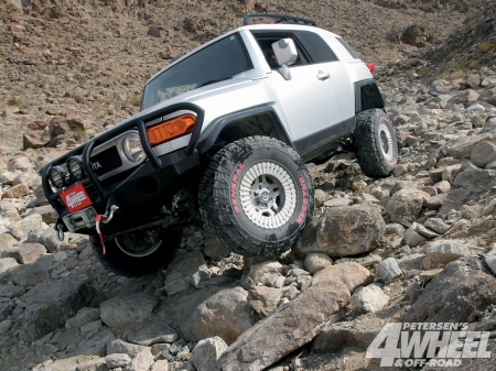 Toyota FJ Cruiser - 4x4, offroad, ride, crawl