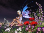 Fairy in Flowers